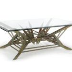 custom copper table - bolzano copper table art by Scott Yocco