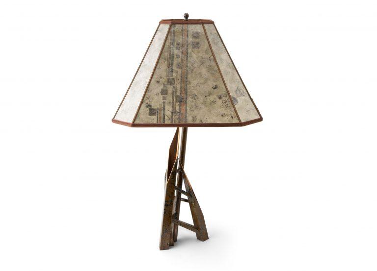custom copper lamp