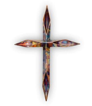 christian cross custom copper